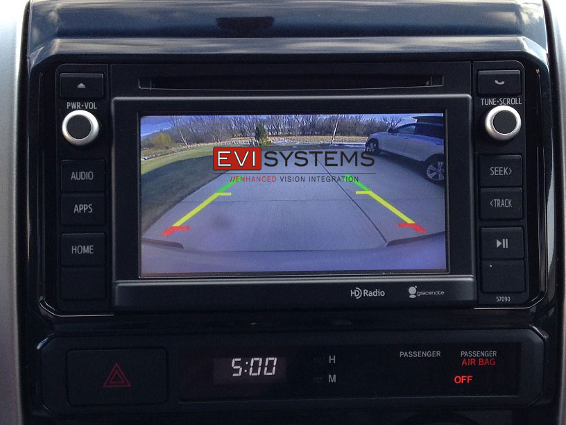 Toyota Tacoma Replacement Backup Camera Module Evi Systems